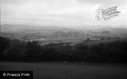 Caerleon, View From Christchurch 1968