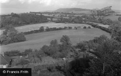 Caerleon, Wentwood From Christchurch 1950