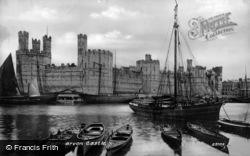 Caernarfon, Castle 1890
