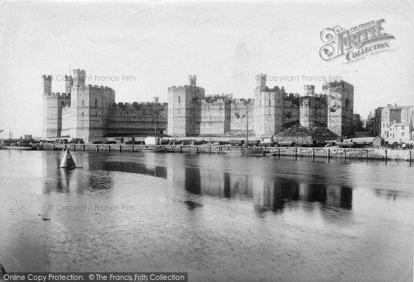 Photo of Caernarfon, Castle 1906