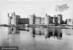 Caernarfon, Castle 1906