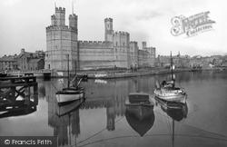 Caernarfon, Castle 1933