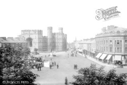 Caernarfon, Castle And Square 1921