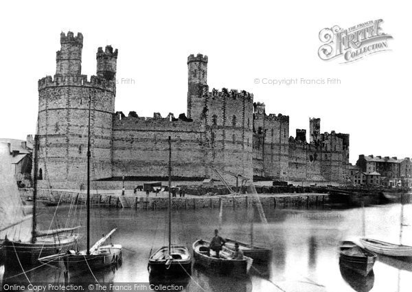 Photo of Caernarfon, Castle c.1870