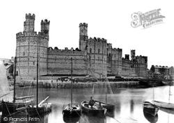 Caernarfon, Castle c.1870
