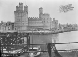 Caernarfon, Castle c.1955