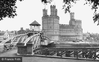 Caernarfon, Castle c1955