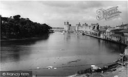 Caernarfon, Castle c.1958