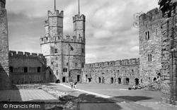 Caernarfon, Castle, Eagle Tower c.1958