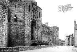 Caernarfon, Castle, Grand Entrance 1890