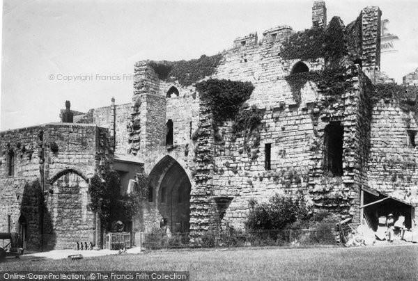 Photo of Caernarfon, Castle, Interior Gate 1890