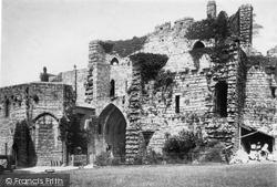 Caernarfon, Castle, Interior Gate 1890