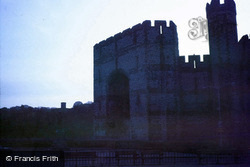 Castle, Queen's Gate c.1985, Caernarfon