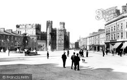 Caernarfon, Castle Square 1906