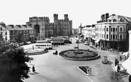 Caernarfon, Castle Square 1959