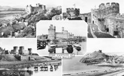 Caernarfon, Castles Of North Wales Composite c.1960