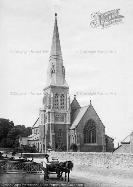 Photo of Caernarfon, Christ Church 1890