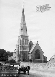 Caernarfon, Christ Church 1890