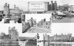 Caernarfon, Composite c.1955