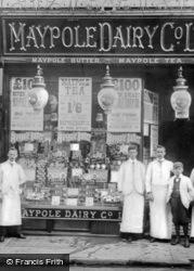 Maypole Dairy Co c.1900, Caernarfon