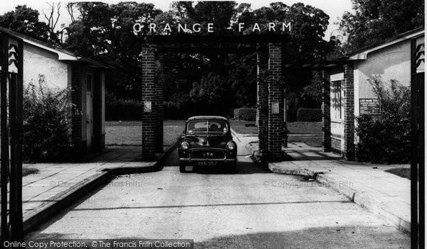 Photo of Caernarfon, Orange Farm c.1960