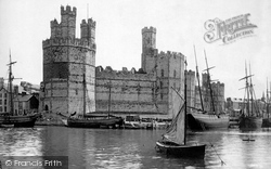 Caernarfon, The Castle 1890