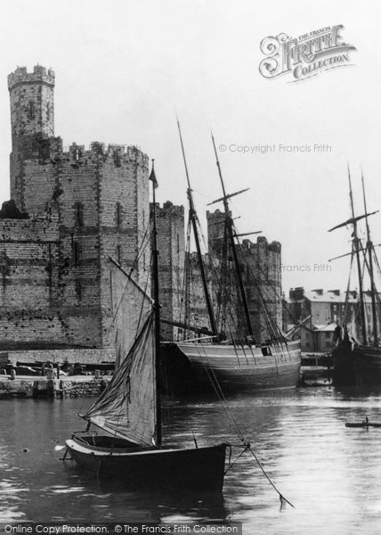 Photo of Caernarfon, The Castle 1890