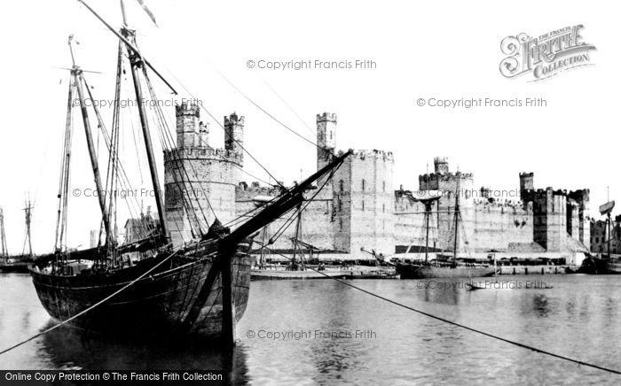 Photo of Caernarfon, The Castle 1891