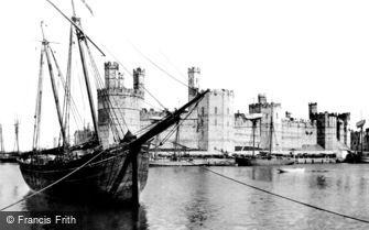 Caernarfon, the Castle 1891