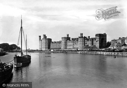 Caernarfon, The Castle 1906