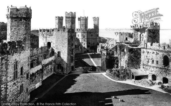 Photo of Caernarfon, The Castle 1906