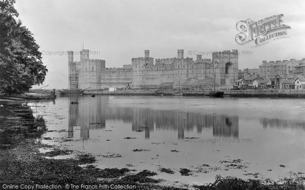 Photo of Caernarfon, The Castle 1921
