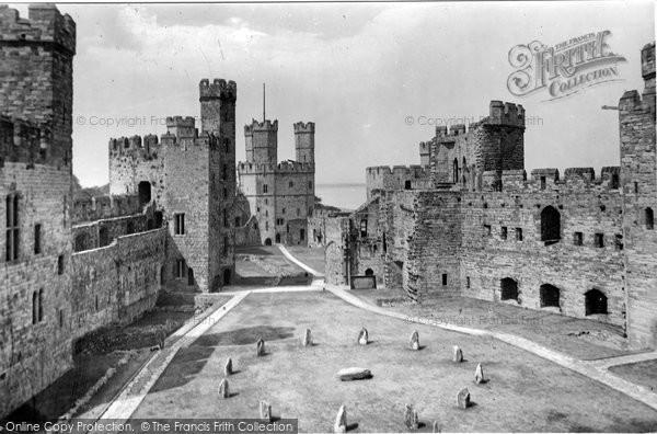 Photo of Caernarfon, The Castle Interior 1921