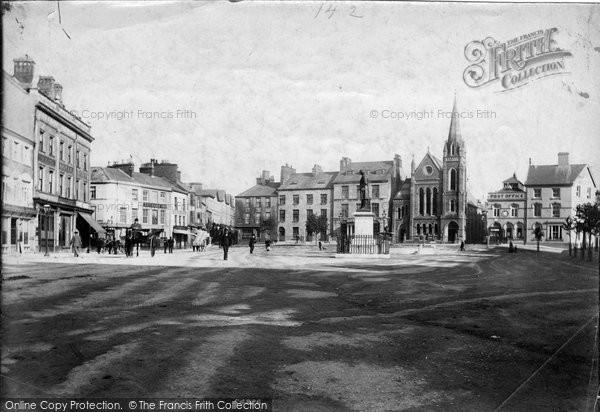 Photo of Caernarfon, The Square 1906