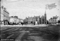 Caernarfon, The Square 1906