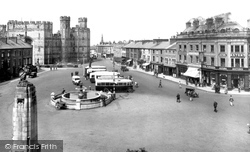 Caernarfon, The Square 1933