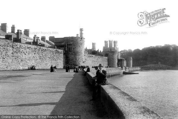 Photo of Caernarfon, Town Walls 1906