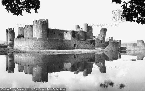 Photo of Caerphilly, Castle c.1959