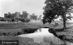 Caerphilly, Castle From The River 1893