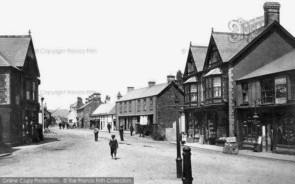 Caerphilly, Castle Street 1899