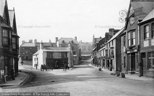 Photo of Caerphilly, Castle Street 1899
