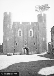 Caerphilly, Castle, The Inner Ward 1949