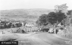 Caerphilly, From Mountain Road c.1950