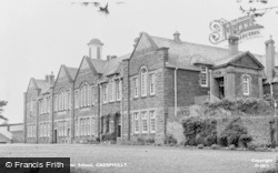 Caerphilly, Girls Grammar School c.1960