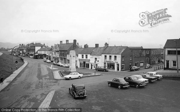 Photo of Caerphilly, Market Street 1966