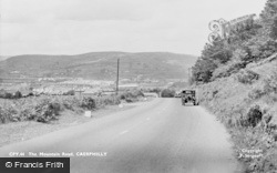 Caerphilly, Mountain Road c.1950