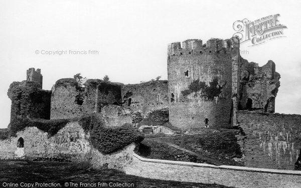 Caerphilly, the Castle 1871