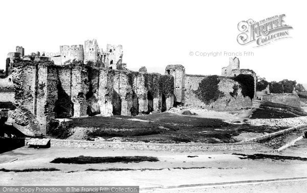 Photo of Caerphilly, The Castle 1893