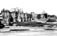 Caerphilly, the Castle 1893