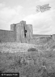 Caerphilly, The Castle 1949